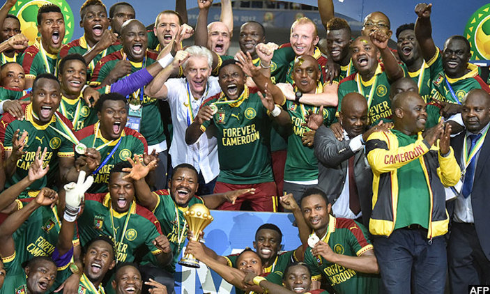 Congratulations; Indomitable Lions